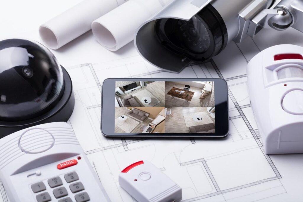 inteligentny dom z kamerami